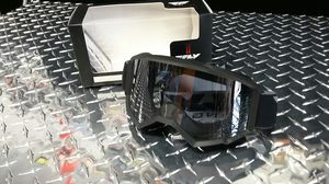Fly racing black goggles for ATV and dirt bikes for Sale in Los Angeles, CA