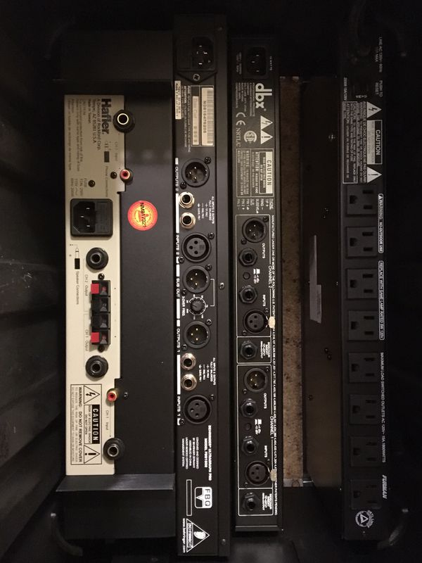 Small gig audio system