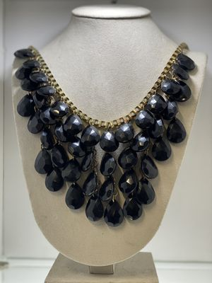 Long black beads Necklace for Sale in Chicago, IL
