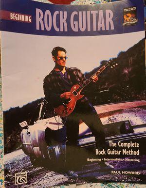 Beginning Rock Guitar Instruction Manual for Sale in Nashville, TN