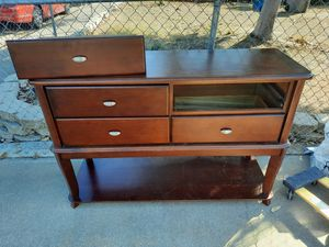 Entertainment center, console table, sofa table for Sale in Elk Grove, CA