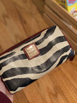 Leather Zebra Dooney and Bourke Wallet for Sale in Oceanside, CA