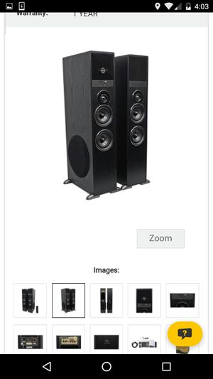 Samsung Tower speakers for Sale in Taycheedah, WI