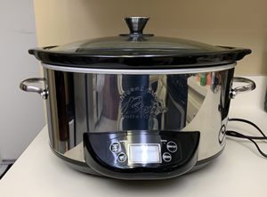 Wolfgang Puck 7-Quart Crock Pot - Excellent condition! for Sale in Irvine, CA