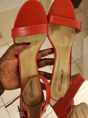 Red heels size 10 for Sale in Kissimmee, FL