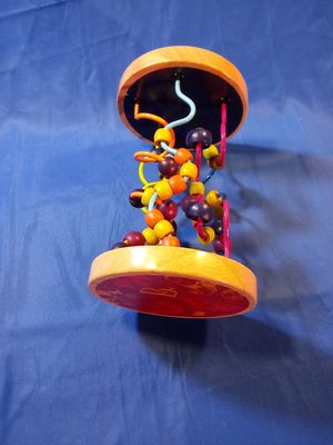 Children`s Baby Bead Slide Toy, Kid, Metal & Wood, Clean, Good Condition for Sale in Denver, CO