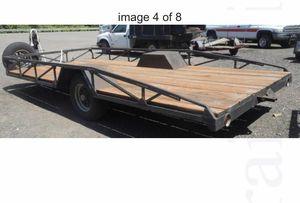 8x15 flat bed heavy duty Utility Trailer for Sale in Battle Ground, WA