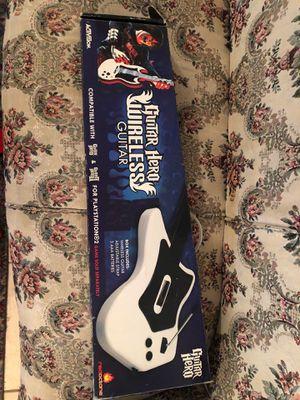 Guitar Hero Wireless Guitar for Sale in Montgomery, AL