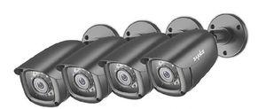 SANNCE 4CH 1080P DVR Security Cameras for Sale in Sacramento, CA