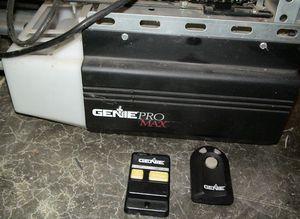 Genie Pro Max 8' 0.5 HP Garage Door Openers -- Used for Sale in Wellington, OH