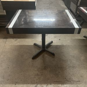 "USED WOODEN DINNING TABLE TOP WITH BASES 30x42"" !! I HAVE 6 AVAILABLE FOR RESTAURANTS for Sale in Hialeah, FL"