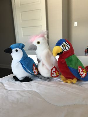 RARE Vintage Birds Ty Beanie Babies 1997 for Sale in Norfolk, VA