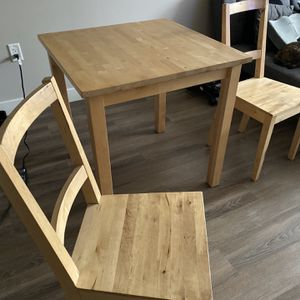 IKEA Breakfast Table And 2 Chairs for Sale in Malden, MA