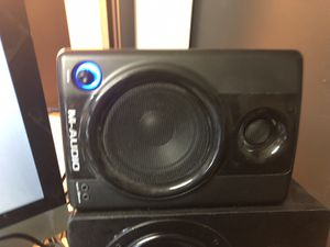 M-audio studio speakers mbox and mic for Sale in Capitol Heights, MD