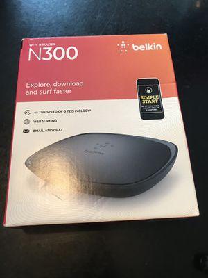 Belkin Wireless Router N300 for Sale in Beaverton, OR
