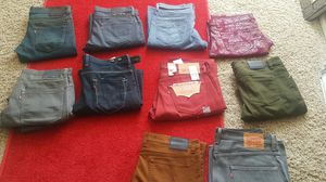 Levis jeans and more for Sale in Denver, CO