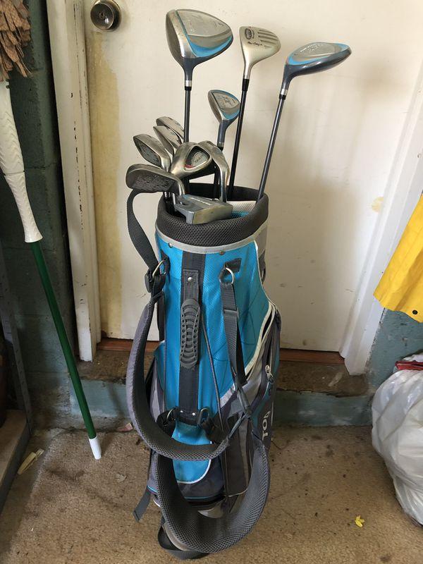 Top Flite XL Left Handed Golf Clubs