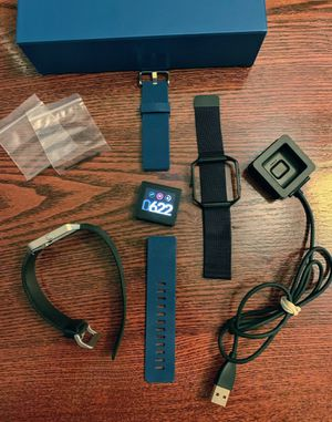 FitBit Blaze - 3 Bands, charger and extra pins for Sale in Chicago, IL