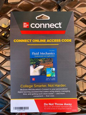 Access code fluid mechanics 4th edition for Sale in San Francisco, CA