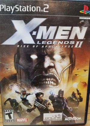 X-Men Legends II PS2 for Sale in Fresno, CA