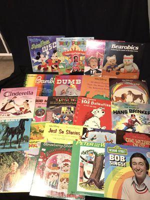 Vintage children's Disney vinyl lps albums for Sale in Rochester, NY