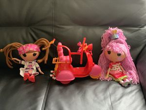 Lalaloopsy doll with motorcycle for Sale in Wheaton, MD