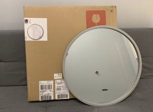 Mirrors - Umbra® Hub 24-Inch Round Wall Mirror in Grey for Sale in North Bethesda, MD