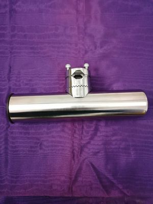 New stainless steel fishing pole holder for boat for Sale in Modesto, CA