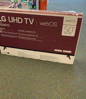 """OPEN BOX LG 50UN7000PUC 50"""" SMART TV F35W for Sale in Temecula, CA"""