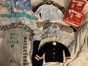 Baby boy clothes 3 months for Sale in Miramar, FL