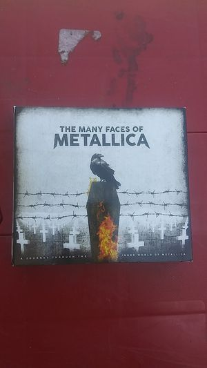 Metallica The many faces of 3-cd set for Sale in American Canyon, CA
