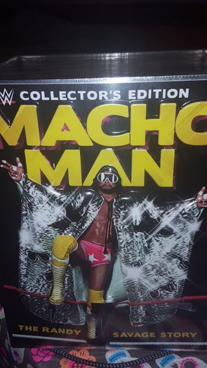 WWE/WWF Macho Man Randy Savage Collector's Edition Boxset for Sale in MONTGOMRY VLG, MD