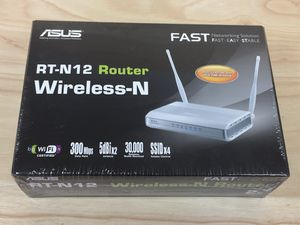 Asus Wireless Router RT-N12 New Sealed for Sale in Sacramento, CA