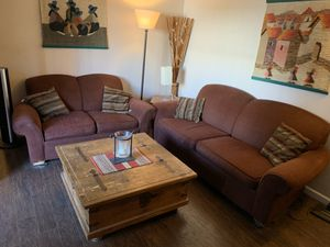 Couches and table for Sale in San Mateo, CA