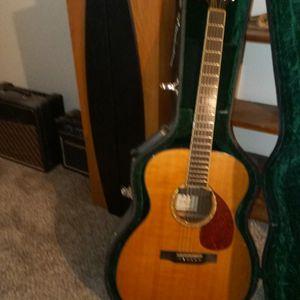 Morgan Electric Acoustic Guitar for Sale in Ottawa, KS