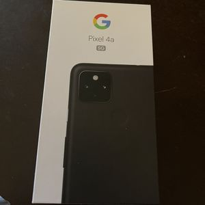 Pixel 4a 5g Unlocked New With Receipt for Sale in Apple Valley, CA