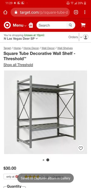 Target Wall Shelf Organizer for Sale in North Las Vegas, NV