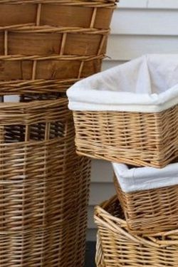 Natural wicker basket set for Sale in Snohomish,  WA