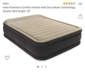 Intex Queen air mattress for Sale in West Hollywood, CA