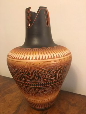 Native American Hand Etched Pottery for Sale in Washington, DC