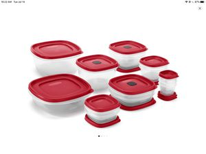 Rubbermaid food storage containers NEW for Sale in Pinole, CA