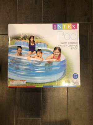 Intex swim center family lounge pool brand new! Will deliver! for Sale in Washington, DC