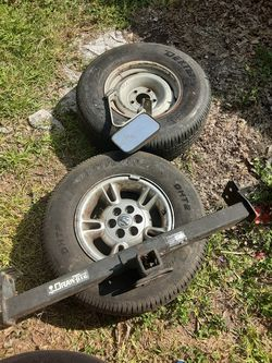 Chevy, dodge rims new tires misc for Sale in San Antonio,  TX