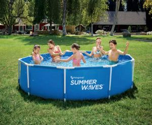 Summer Waves 10 foot metal frame pool (Brand New) for Sale in Springfield, VA