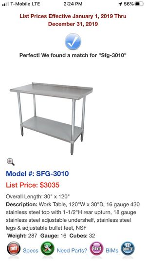 Work table for Sale in Largo, FL