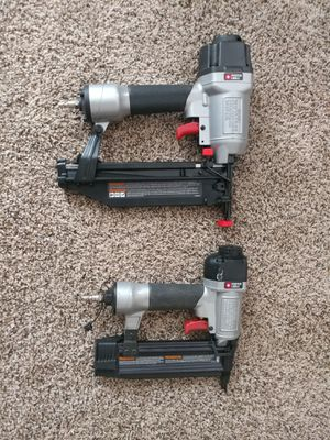 Finishing nail guns $40 for Sale in Moon, PA