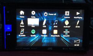 Jvc double din touchscreen car dvd/cd headunit for Sale in Glenshaw, PA