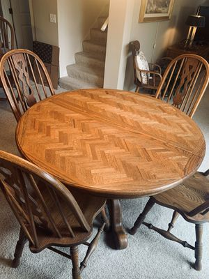 Solid Dining Set for Sale in Everett, WA