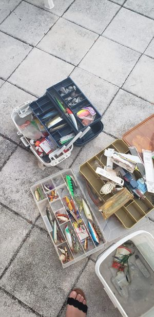 Fishing lures for Sale in Tampa, FL