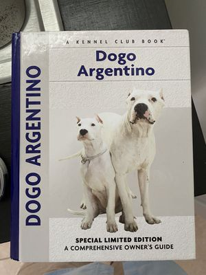 Dogo Argentino book. for Sale in Pinellas Park, FL